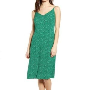 One Clothing Green leopard cami dress Med (L1/7)